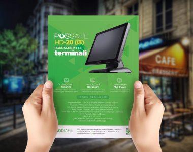 Possafe Flyer Tasarımı