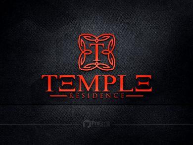 Temple Residence Logo Tasarımı
