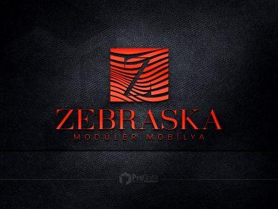 Zebraska Mobilya Logo Tasarımı