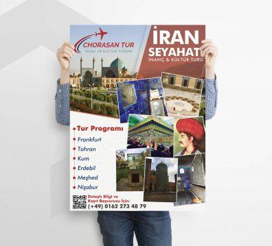 Chorasan Tour Flyer Tasarımı