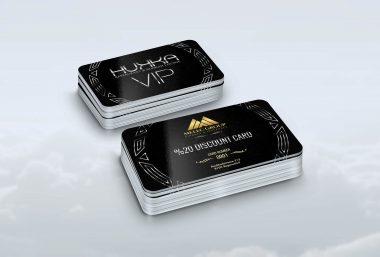 Hukka Vip Card Tasarımı