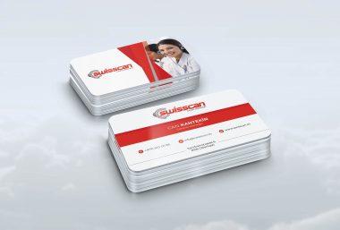Swiss Call Kartvizit Tasarımı